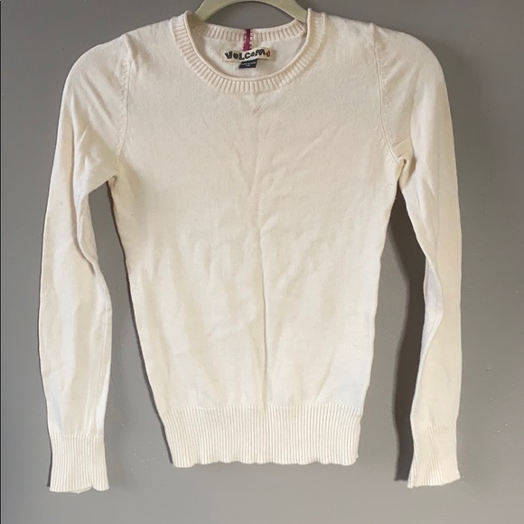 Cream Volcom sweater